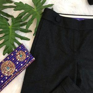 J. Crew   Favorite fit wool wide leg trousers
